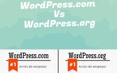 Cuál plataforma elegir: WordPress.com Vs WordPress.org (infografía)