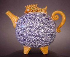 Yellow fish teapot:-)