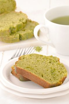 Green Tea Yogurt Cake | Mother Thyme