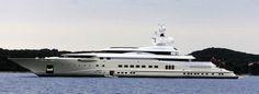 Pelorus-$130 miljoen Deze jacht van 103 meter is nog wel in het bezit van Roman Abramovich. Het is volgeladen met leuke toys als Jet ski's.