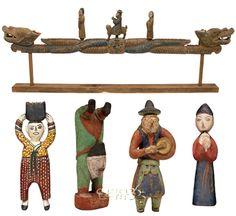 Korean traditional puppet