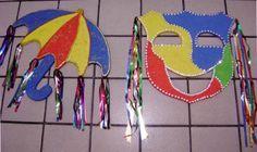 enfeites para decoração de carnaval - Pesquisa Google
