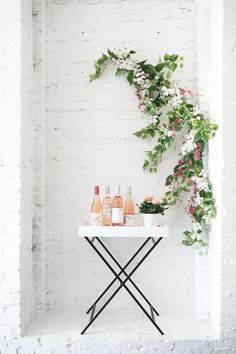 throw a super simple rosé tasting party for spring | coco kelley
