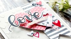 Love You Always card by Debby Hughes. Find out more about this Valentine's card by clicking on the following link: http://limedoodledesign.com/2017/01/love-you-always/
