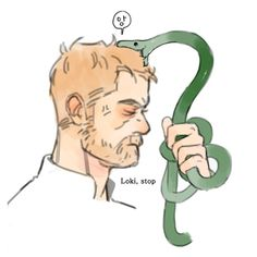 There was this one time when we were children he transformed himself into a snake, and he knows that Love snakes. So I went to pick up the snake to admire it. And then he transformed back into herself and was like 'MBLERGH! IT'S ME! And he stunned me, we were eight at the time.