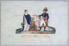 Allégorie de la France et de Napoléon Bonaparte, par Le Sueyr
