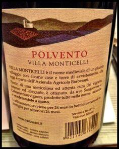 El Alma del Vino.: Barberani Viticoltori Polvento Villa Monticelli 2008.