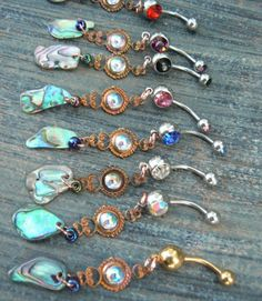 I don't even have a belly ring but I love these. #gypsystyle
