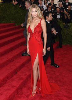 Pin for Later: Les 46 Meilleurs Looks de Tapis Rouge de 2015 Gigi Hadid