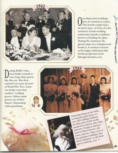 American Girl Magazine - January 1993/February 1993 Issue - Page 24 (Part 5 of Looking Back - Wedding Album)