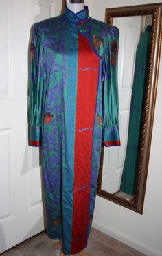 Fabulous Vtg Jeanne Marc Japanese Hippie Boho Nothing Matches