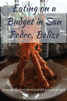 Going to San Pedro Belize but want to eat on a budget? Find some great deals and treats plus places to avoid. hotel restaurant travel tips tour Tips Travel Belize Vacations, Belize Resorts, Belize Travel, Maldives Honeymoon, Beach Vacations, Romantic Vacations, Romantic Travel, Dream Vacations, Romantic Getaways