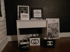 this is a miniature!  miniature chanel collection 1:6 playscale 1:12  from finescales  by DaWanda.com