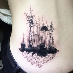 forest cover-up tattoo -ilwolhongdam