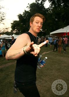 Josh Homme of Queens of the Stone Age, Austin 2007