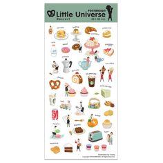 PONYBROWN Dessert little universe deco sticker - fallindesign