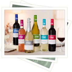 FRE: Alcohol Free Wine, nice gift idea for our friends who are expecting but love wine, or to serve as a non achohol option at a dinner party.
