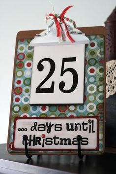 I know it's not Christmas, but I'm thinking it could made for any holiday--just reusing the numbers.