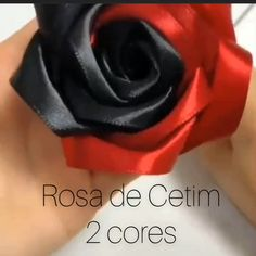 How to make ribbon rosesLike simply handmade ribbon roseSatin pink 2 colors 🌹 Satin rose step by step artesanato artecomquiane cetim diy flowersRealistic and super light ribbon roses How to make Ribbon Roses How to Ribbon Art, Ribbon Crafts, Flower Crafts, Flower Diy, Flower Wall, Paper Crafts, Diy Home Crafts, Diy Arts And Crafts, Creative Crafts