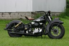 1945 Harley Davidson knucklehead. One of the things that might be willed to me someday!