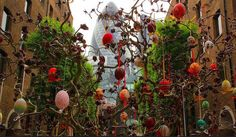 The Easter Tree in the City of London 2014