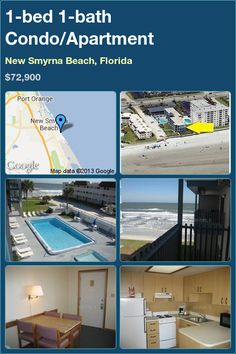 1-bed 1-bath Condo/Apartment in New Smyrna Beach, Florida ►$72,900 #PropertyForSale #RealEstate #Florida http://florida-magic.com/properties/7094-condo-apartment-for-sale-in-new-smyrna-beach-florida-with-1-bedroom-1-bathroom