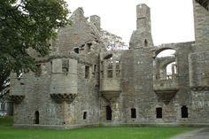 The Bishop & Earl's Palaces, Kirkwall, Orkney Island, Scotland