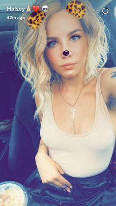 Halsey on Snapchat