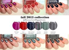 Essie For The Twill Of It Collection 2013. [swatches]