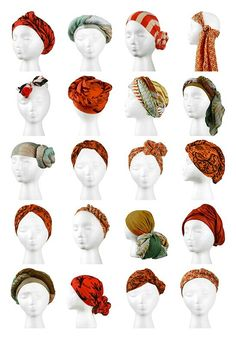 Scarf your head !