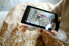 Hayka APP / augmented reality in your bed! / Hayka straw bedding / photo: Piotr Miazga / more info: www.hayka.eu