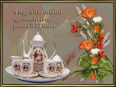 Kellemes szép hetet , napot 2 Snow Globes, Table Decorations, Day, Figurative, Dinner Table Decorations