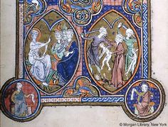 Psalter, MS M.101 fol. 16v - Images from Medieval and Renaissance Manuscripts - The Morgan Library & Museum