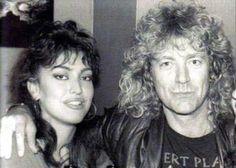 Robert Plant and daughter Carmen Jane