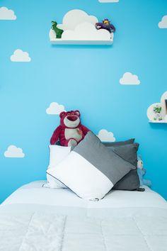 Blue bedroom Huapai