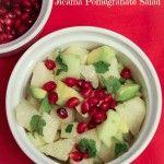 Jicama Pomegranate Salad