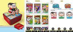 Turma da Monica lança aplicativo para Android e IOS para fás da turma de quadrinhos mais famosa do Brasil