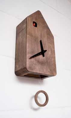 Cuckoo's House Modern Black Forest Cuckoo Clock