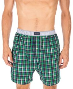 Tommy Hilfiger Plaid Boxers