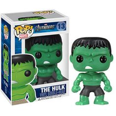 Funko POP! Vinyl Bobble-Heads - Avengers Movie - HULK (4 inch)