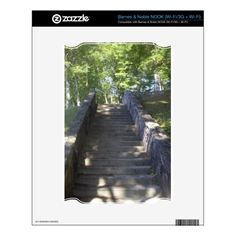 Old Stone Stairs Skins For The NOOK!  #Appalachian #country #zazzle #store #West #Virginia #gifts #photography http://www.zazzle.com/dww25921*