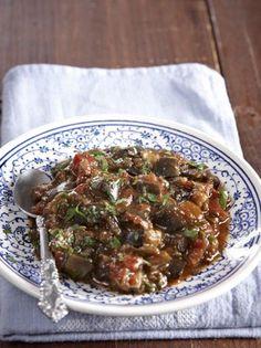 Αιγυπτιακή μελιτζανοσαλάτα - www.olivemagazine.gr Guacamole Salad, Appetizer Recipes, Appetizers, Cooking Recipes, Healthy Recipes, Healthy Food, Salad Bar, Greek Recipes, Street Food