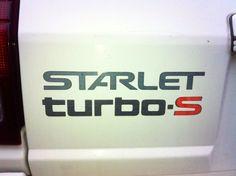 Starlet Turbo-S Toyota Racing Development, Toyota Starlet, Pickup Trucks