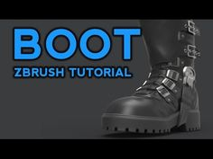 Another Wonderful Tutorial By Mr. Michael Pavlovich ZBrush Boot Tutorial Make a fancy boot! Watch the videos and refer back to the handy breakdown image as necessary. Watch for free on my YouTube channel, or download for free here if you'd like (along with the boot .ztl): https://gumroad.com/pavlovich https://cubebrush.co/pavlovich