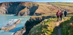 Pembrokeshire Coast Path, Wales.  186 miles along spectacular beaches, hidden coves, cliff tops and through ancient monuments