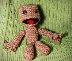 Crochet your own Little Big Planet sackboy | Offbeat Bride
