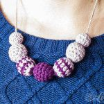 Crochet Bead Necklace- Free pattern by Loopsan....thanks for sharing!!!
