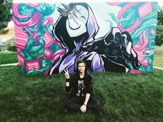 elrubiuswtf  Nuevo vlog en mi canal! Pintamos este mural gigantesco de Virtual Hero con un artista urbano :D #streetart #virtualhero