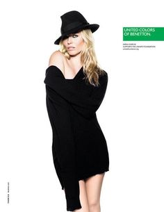 United Colors of Benetton Spring 2013: Kiera Chaplin photographed by Giulio Rustichelli.    Photos courtesy of Benetton