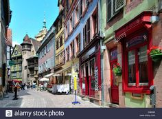 Colmar, 68, Haut-Rhin, Alsace, France Stock Photo